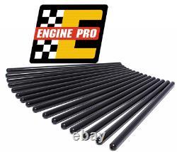 Engine Pro 7.800 1010 Hardened Pushrods Set Chevrolet SBC with Flat Tappet Cam