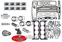 Engine Rebuild Overhaul Kit for 1967-1985 Chevrolet GMC Truck 350 5.7L OHV V8