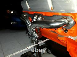 Fächerkrümmer Krümmer Chevy Chevrolet SMALL BLOCK HUGGER Shorty Corvette BelAir