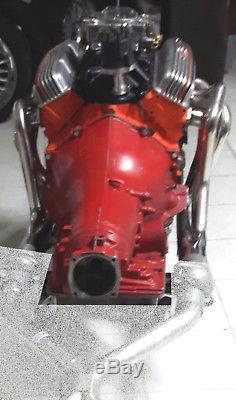 Fächerkrümmer Krümmer Chevy Small Block V8 BJ 1970-1981 02/305/307/350/400 CUI