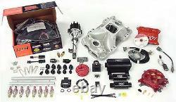 Fast 3012350-10 Xfi Sbc Small Block Chevy Efi Fuel Injection Kit 1000hp