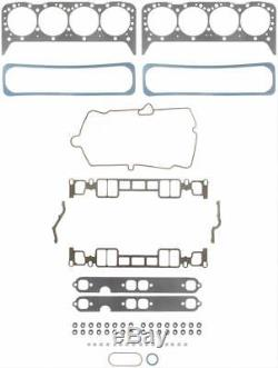 Fel-Pro Gaskets Head Set Marine Chevy Small Block 350 5.7L Set