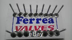 Ferrea 5000 Series Valves Small Block Chevy SBC 1.6 EXH 2.02 INT +. 100 Length
