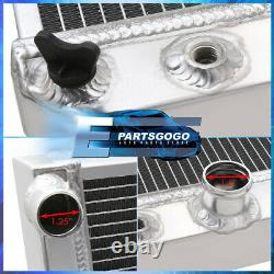 For 91-96 Chevy Corvette 5.7L L98/LT1 ZR-1 V8 Tri-Core 3 Row Aluminum Radiator
