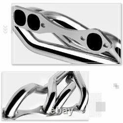 For Chevy/Pontiac/Buick SBC 265-400 Small Block Stainless Steel Exhaust Header