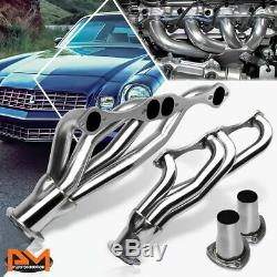 For Chevy SBC Small Block A/F/G Body V8 Stainless Steel Clipster Exhaust Header