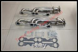 For Chevy Small Block 283-400 CID T3 Racing Performance Turbo Headers Exhaust