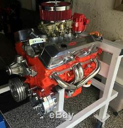 For Chevy Small Block Hugger Shorty Stainless Steel Header 327-350