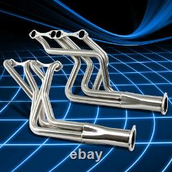 For Chevy Small Block SBC 283/305/307/350/400 Long Tube Header Manifold Exhaust