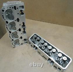 GM 12464298 SB Chevy Fastburn Heads, Cast #12367712, Loaded, PAIR