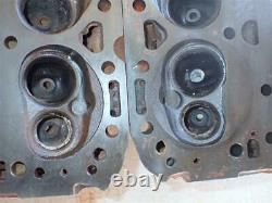 GM 3991492 Cylinder Heads Small Block Chevy ANGLE PLUG Camel Hump 2.02/1.60 COOL
