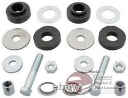 GM Chevy A Body Radiator Core Support Bushing Hardware Kit Set Rubber Mounts