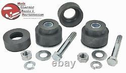 GM Chevy A Body Radiator Core Support Bushing Hardware Kit Set Rubber Mounts 70