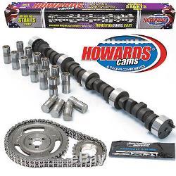 HOWARD'S 2000-5900 RPM SBC Big Mama Rattler 289/297 488/480 109° Cam Kit