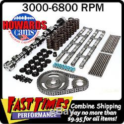 HOWARD'S SBC Chevy Retro-Fit Hyd. Roller 312/320 600/600 110° Cam Camshaft Kit