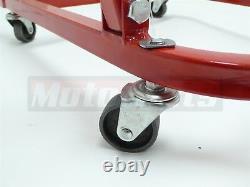 Heavy Duty Small & Big Block Chevy Engine Cradle Storage Stand wheels SBC BBC