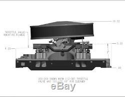 Holley 300-263 EFI Single Plane Intake fits SB Chevy V8 with L31 Vortec Heads
