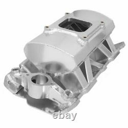 Holley 825011 Sniper Fabricated Intake Manifold Small Block Chevy Single Plane C