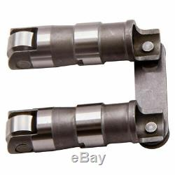 Hydraulic Roller Lifters + Link Bar Small Block for Chevy SBC 350 265 400 V8