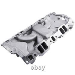 Intake Manifold SBC Small Block fit Chevy SBC 350 400 383 305 327