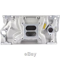 JEGS 513002 Intake Manifold Small Block Chevy with 1996-Up Vortec L31 Cast Iron