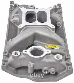 JEGS 513036 AirGap Intake Manifold for Small Block Chevy with 1996-2002 Vortec