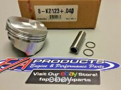 Kieth Black Small Block Chevy 383 Stroker 6.0 Rod. 150 Dome Pistons KB123+. 040