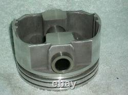 L2491f Flattop Speed Pro 383 Forged Pistons Sbc Small Block Chevy Imca 5.7 Float