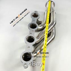 LS Turbo Headers LSX, LS1, LS2, LS3, LS6 (1 3/4 Primaries) Forward Facing Up