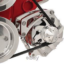 Low Mount Alternator Bracket short Water Pump Small Block Chevy GM 350 305 400