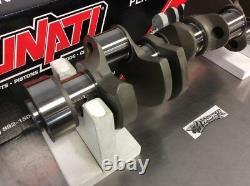 Lunati 70137501 Forged 1 Pc Seal Small Block 350 383 Chevy 3.750 Stroke Crank