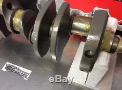 Lunati 70234801 Forged Steel Small Block 350 Chevy 3.480 Stroke Crankshaft
