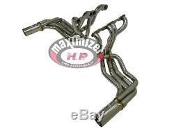 Maximizer Exhaust Side Mount Pipe 63 to 82 Corvette Stingray Small Block 350Cu