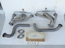 NOS 82-92 Camaro Firebird 305 350 SLP 1-5/8 Shorty Headers with Pipes & Inst. Kit