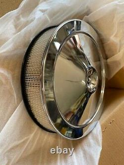 NOS GM Open Element Air Cleaner Factory High Performance 4 Barrel Carb 6423907