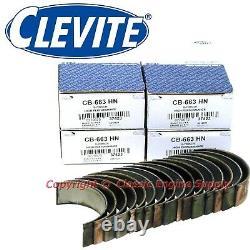 New Clevite H Series Rod & Main Bearing Set Chevy LS 4.8L 5.3L 5.7L 6.0L 6.2L
