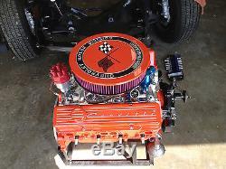 New Corvette Black Small Block Chevy Valve Covers Set Aluminum Vintage