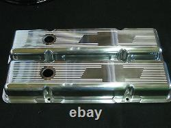 New Ghost Tie Budget Builder Series Chevy SB Tall Valve Covers Clears Rollers