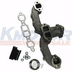 New Set of 2 674-501 Small Block Exhaust Manifold Kit For GMC Chevy Van Pickup