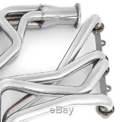 Nice Truck Header Fit 1973-1985 Small Block Chevy GMC Stainless Steel Cool