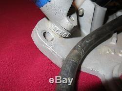 Nostalgic Small Block Chevy Algon Fuel Injection Set Up Gasser Drag Rat 327 350