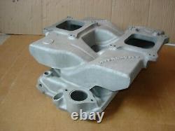 Offenhauser Chevy Small Block Cross Ram Aluminum Intake Manifold Chevrolet 5593