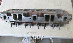 Original GM 3927186 Cylinder Head Small Block Chevy Camel Hump 2.02/1.60 Valves