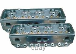 Precision Race Engines Aluminum SBC Cylinder Heads Small Block Chevy Flow 270cfm