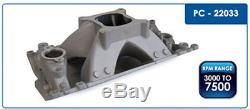 Procomp SBC CHEVY 350 High Rise Aluminum Vortec Single Plane Intake Manifold