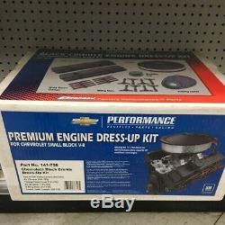 Proform 141-758 Black sbc 350 400 Chevrolet GM Performance Engine Dress Up Kit