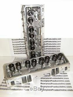 SBC Aluminum Heads 210cc Runners Small Block Chevy 350 383 400 FREE SHIPPING