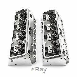 SBC Aluminum Heads 220cc/64cc Runners Small Block Chevy 350 383 FREE SHIPPING