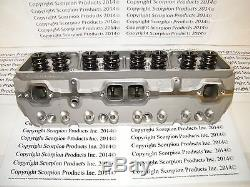 SBC Aluminum Heads 220cc Runners Small Block Chevy 350 383 Angle FREE SHIPPING