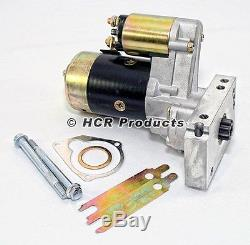 SBC Chevy Mini Starter High Torque Black 3HP 153 168 Tooth 350 400 Small Block